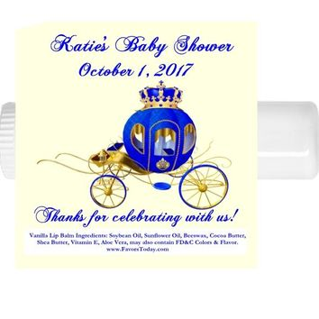 15 Prince Baby Shower Lip Balm Favors Carriage