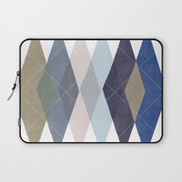 Not Your Father's Argyle Laptop Sleeve by enframe photography