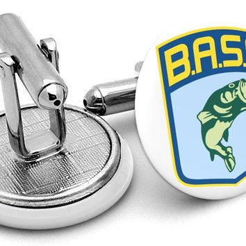 BASS Bassmaster Fishing Cufflinks