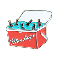 Case Of The Mondays Pin