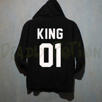 King 01 Hoodie Unisex - Size S M L XL