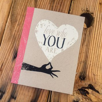Love Who You Are, An Inspirational Gift Book