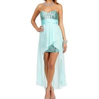 Tony-Mint Prom Dress