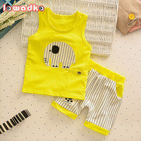 Baby Boys Girls Clothing Set (Vest + Pants )