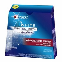 Crest 3D White Advanced Vivid Whitestrips- 14 Whitening Treatments