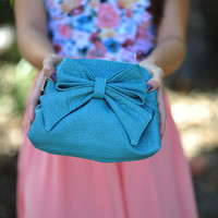 Preppy Girl Problems Purse: Teal | Hope's