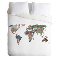 Bianca Green Louis Armstrong Told Us So Duvet Cover