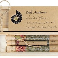 Truly Aesthetic - All Natural & Organic Cherish Bath Affirmations (Spring Menagerie)