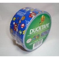 Duck Brand 1.88-inch By 10-yards Super Mario Duct Tape