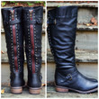 Oliver Rock Black Stud Boots-OUT OF BOX