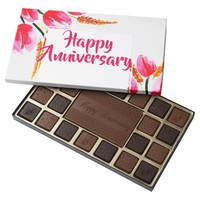 Happy Anniversary 45 Piece Box Of Chocolates