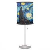 The Starry Night by Van Gogh Desk Lamp