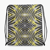Planthouse Yellow Drawstring Bag | Snupped