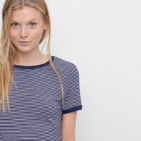MULTI-STRIPED T-SHIRT - T-SHIRTS AND TOPS - WOMAN - PULL&BEAR United Kingdom
