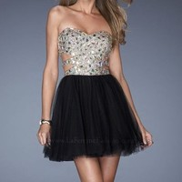 Sequined Tulle Dress by La Femme