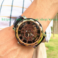 Steampunk Watch,Mechanical watch,Men Wrist Watch  WN01