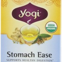 Yogi Teas Stomach Ease, 16 Count (Pack of 6)