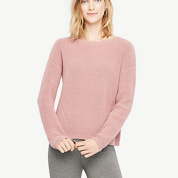 Crew Neck Sweater | Ann Taylor