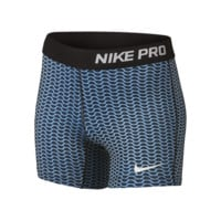 "Nike Pro 3"" Allover Print Girls' Training Shorts"