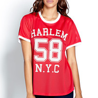 Throwback Harlem Jersey Top