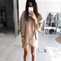 Irregular One Piece Dress [9439561604]