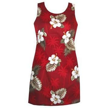 lava hawaiian tank dress