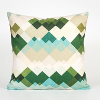 Sofa Pillow Cover. Scandinavian Home Decor. Nordic Decor. Geometric Mountain. Scandinavian Cushion Cover. Trendy Pillow. Trendy Home Decor