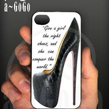 iPhone 4 case Marilyn Monroe Quote design custom by aGoGoDesign