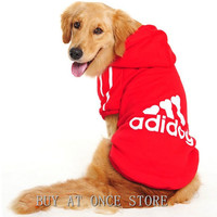 Big Dog Clothes Coat For Dogs Large Size Winter Warm Sweater Dogs Coat Jacket Hoodie Apparel Cotton Sportswear 3XL- 9XL CW001