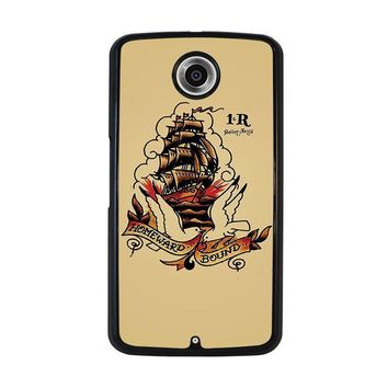 sailor jerry nexus 6 case cover  number 1