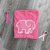 Pocketed Crunchberry Breast Cancer Awareness Print