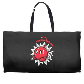 cherry bomb Weekender Totes
