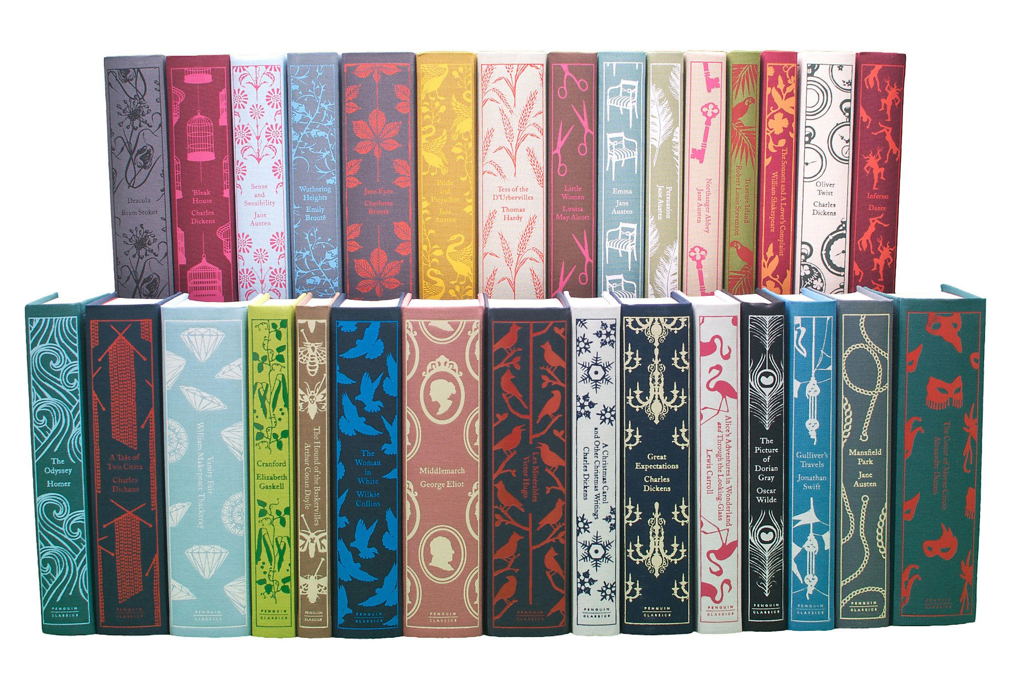 Penguin Book Cover Make Your Own : Penguin classics books set of from one