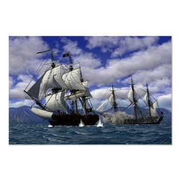 Pirates Poster from Zazzle.com
