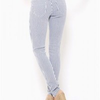 Cello Stripe Denim Skinnies