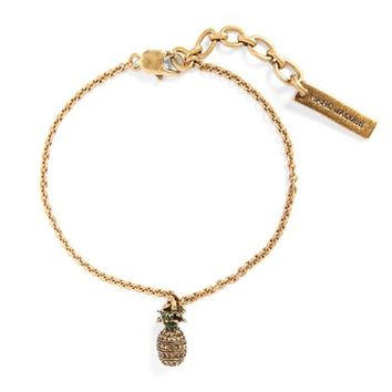 MARC BY MARC JACOBS Pineapple Charm Bracelet | Nordstrom
