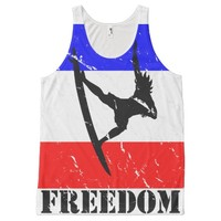 Freedom Surfing ALL-OVER-TANK tops All-Over Print Tank Top