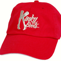 Kinky Boots the Broadway Musical - Red Logo Baseball Cap