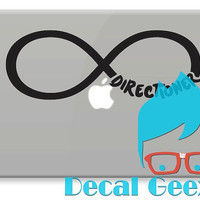 One Direction Wall Decor -- Directioner forever Vinyl Decal (Locker Size or Small Macbook Car Window))