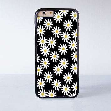 Daisy Plastic Case Cover for Apple iPhone 6 6 Plus 4 4s 5 5s 5c