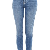 MOTO Mid Blue Baxter Slim Leg Jeans - Shop All Jeans - Jeans