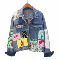 Hippie Chic Patchwork Jacket