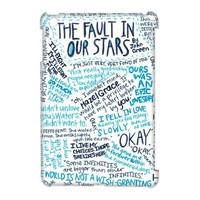 CTSLR Design Funny The Fault In Our Stars Hard Case Cover Skin for iPad Mini and iPad Mini 2 Retina Display-1 Pack- 8