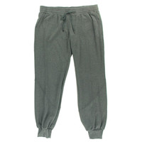 Haute Hippie Mens Heathered Flat Front Casual Pants