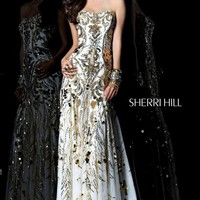 Sherri Hill 21077 at Prom Dress Shop