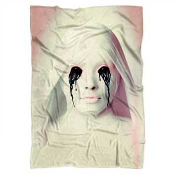 American Horror Story White Nun Blanket