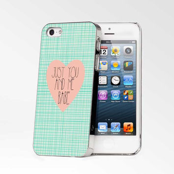 Just You And Me Babe iPhone 4s iphone 5 iphone 5s iphone 6 case, Samsung s3 samsung s4 samsung s5 note 3 note 4 case, iPod 4 5 Case