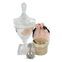 Juicy Couture Huge Crystal Goblet with Pacific Sea Salt Soak in Luxury Juicy Gift Box By Juicy Couture