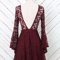 Altar'd State Lovely Back Lace Dress | Altar'd State