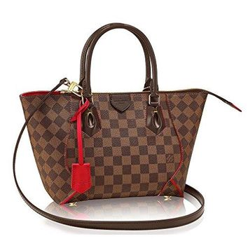 Authentic Louis Vuitton Damier Caissa Tote PM Handbag Article:N41551 Cherry Made in France  Louis Vuitton Bag
